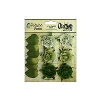 Petaloo Darjeeling Garden Rosette Green