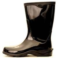 Size 9 Black Womens  Waterproof Rain Boots