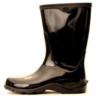 Sloggers Size 8 Black Womens Sloggers Waterproof Rain Boots 5000BK08