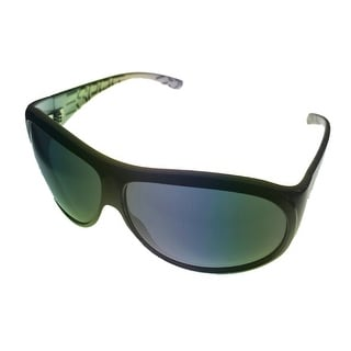 Esprit Women Sunglass 19207 543 Black Blue Aviator Fashion Plastic, Gradient Len