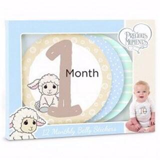 Luffie Lamb Babys Monthly Milestones Sticker, Pack of 12