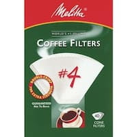 Melitta White #4 Coffee Filter