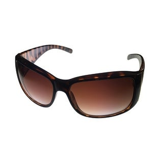 Kenneth Cole Reaction Women Sunglass Tortoise Reactangle Gradient Len KC1156 52F - Medium
