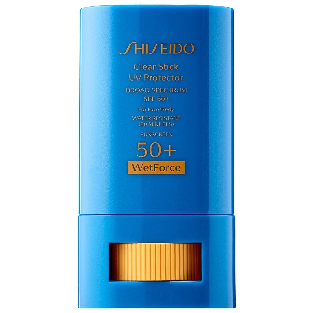 Shiseido Clear Sunscreen 0.7-ounce Stick for Face & Body SPF 50 (Body Sunscreen)