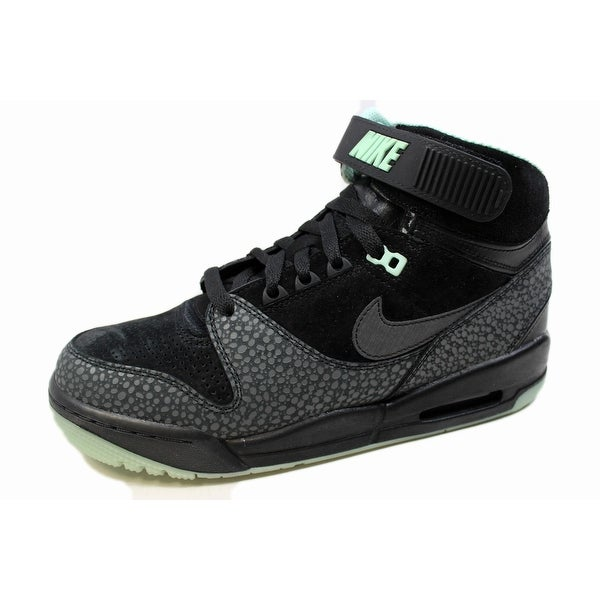 Nike Men's Air Revolution Premius QS Black/Black-Arctic Green-Dark Grey Glow In The Dark 623448-001