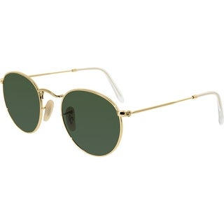 Ray-Ban Women's Icons RB3447-001-47 Gold Round Sunglasses