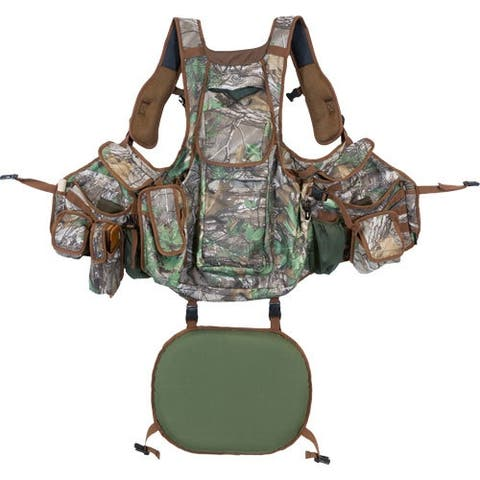Hunters specialties 100014 hs strut turkey vest undertaker rt x-green 1-size