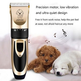 Link to Pet Dog Clippers Hair Trimmer Grooming Kit Professional Electric Shaver Kit - M Similar Items in Dog Grooming