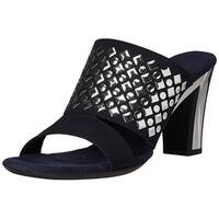Onex Women's Nightlife Dress Sandal, Navy, Size 11.0