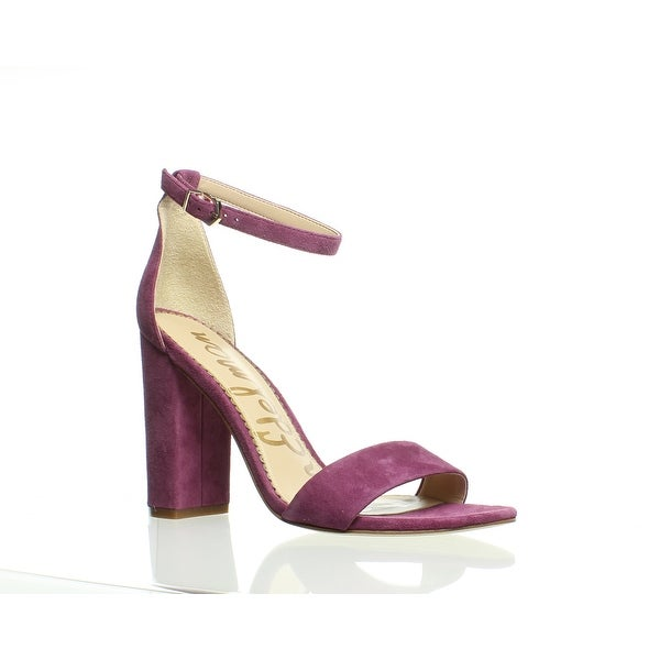 b394fa85cfa Shop Sam Edelman Womens Yaro Mulberry Pink Sandals Size 7.5 - Free ...