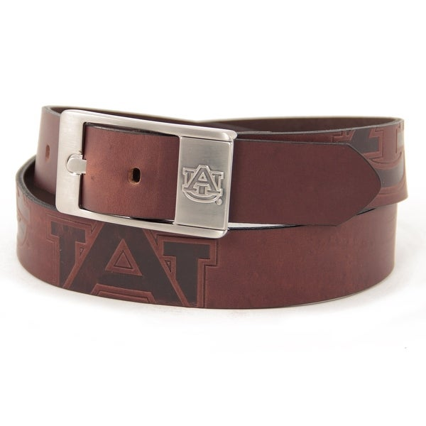 Auburn University Brandish Leather Belt