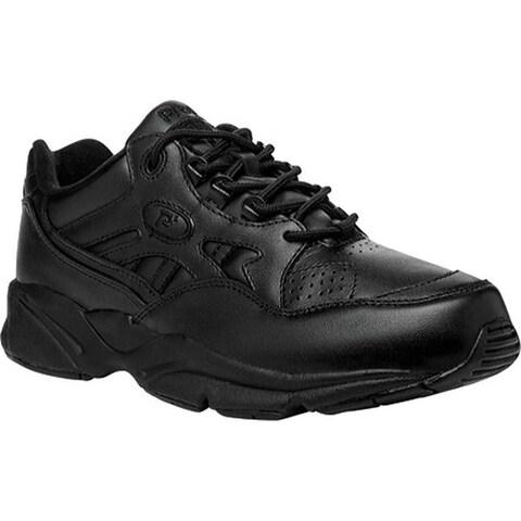 Propet Men's Stability Walker Shoe Black