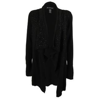 INC International Concepts Women's Wool Blend Cardigan