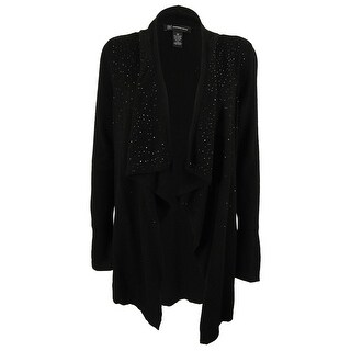 INC International Concepts Women's Wool Blend Cardigan