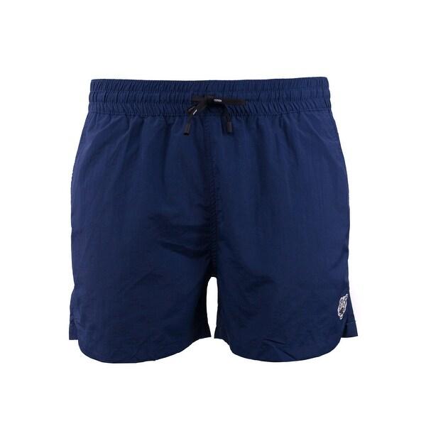7e337a8969b50 Shop Kenzo Mens Navy Blue Tiger Bathing Suit Swim Shorts - XxL ...