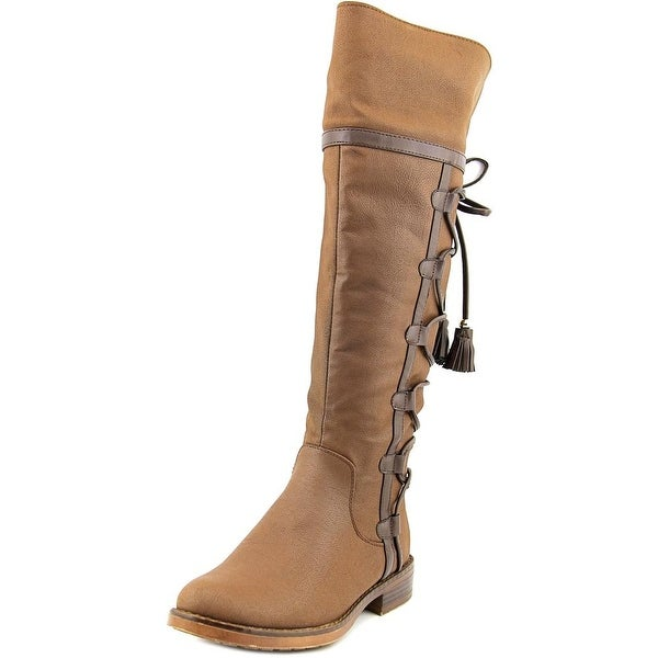 XOXO Selby Women Round Toe Synthetic Winter Boot