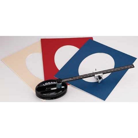 Logan - Three-Step Oval & Circle Mat Cutter - Oval & Circle Mat Cutter