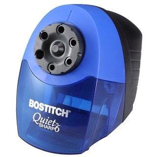 Link to Bostitch QuietSharp 6 Heavy Duty Classroom Electric Pencil Sharpener, 6-Holes, Blue (EPS10HC) Similar Items in Pencil Sharpeners