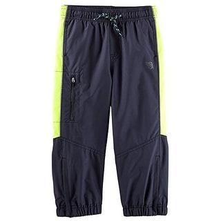 OshKosh B'gosh Baby Mesh-Lined Active Pants - Blue - 6 Months