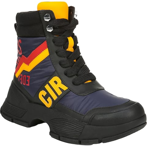 Circus by Sam Edelman Womens Benett Winter Boots Water-Resistant Cold Weather - Navy/Red/Yellow