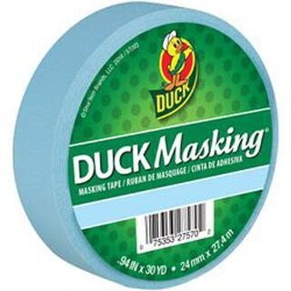 Lt Blue -Duck Masking Tape