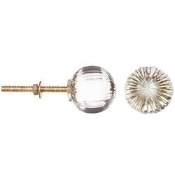 Round Clear - Heritage Hardware Glass Knob