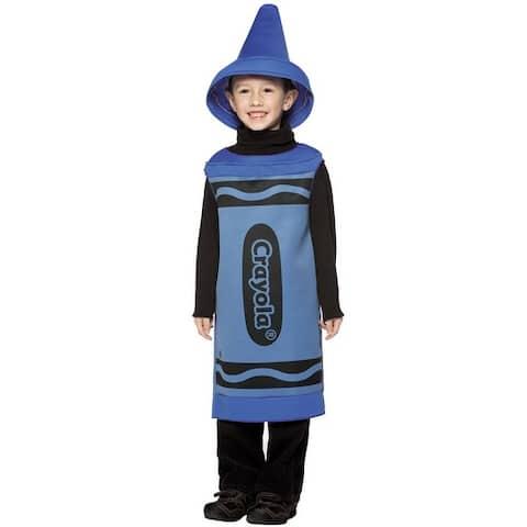 Rasta Imposta Crayola Blue Child Costume (4-6X) - Solid