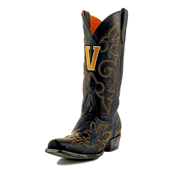 Gameday Boots Mens College Team Vanderbilt Commodores Black