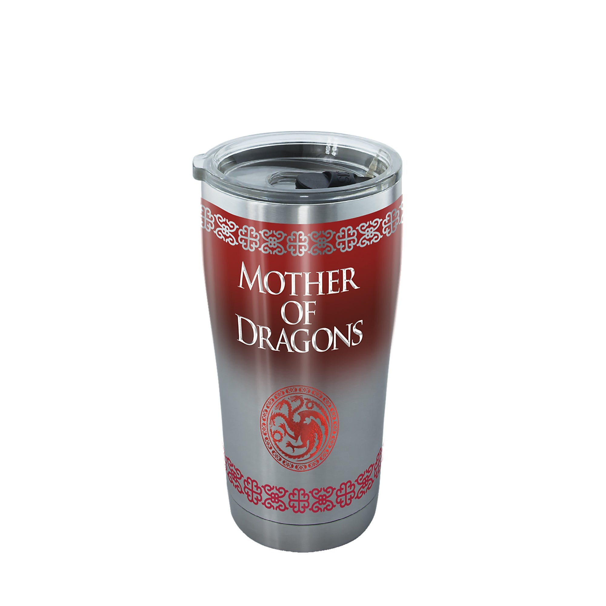 Shop Game Of Thrones Mother Of Dragons 20 Oz Stainless Tumbler With Lid On Sale Overstock 25734750
