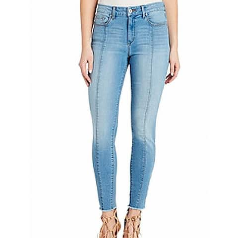 Jessica Simpson Womens Blue Size 29x27 Skinny Adored Curvy Fit Jeans