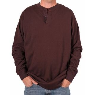 Farmall IH Tall Men's Thermal Knit Henley