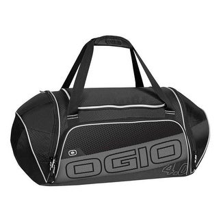 Ogio Endurance 4.0 Athletic Duffel Gym Bag Black/Silver