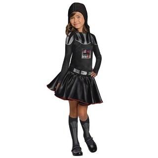 Darth Vader Girls Dress Costume