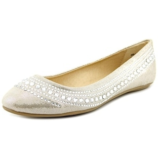 CL By Laundry Hillary Women Round Toe Synthetic Gray Flats