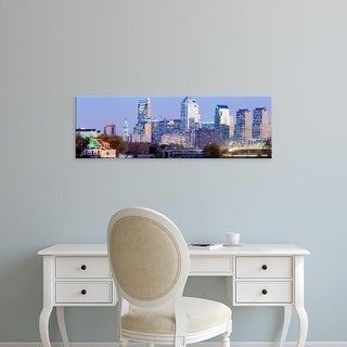 Easy Art Prints Panoramic Images's 'Philadelphia Pennsylvania USA' Premium Canvas Art