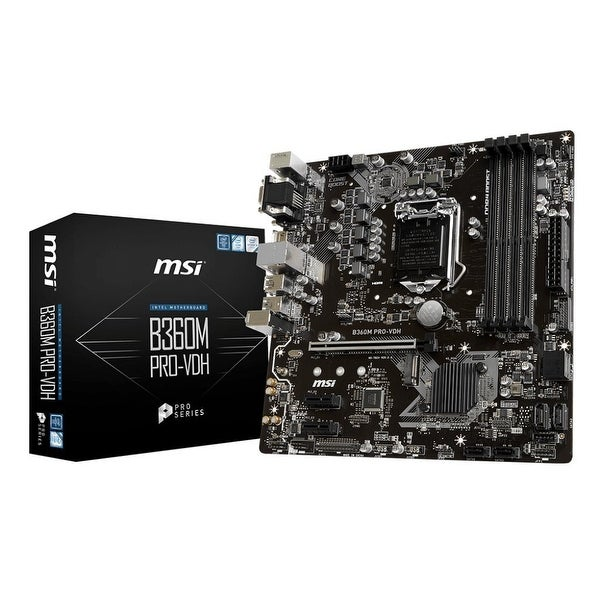 Msi - Components - B360mprovdh