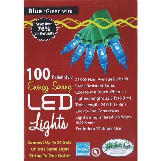 J. Hofert 100Lt Led Mini Blu Light 2290-04 Unit: EACH