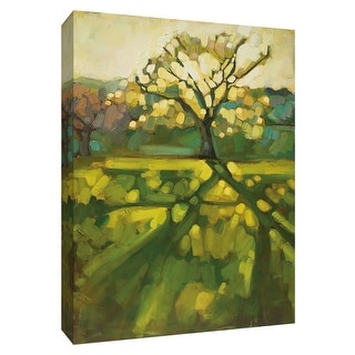 """PTM Images 9-148467  PTM Canvas Collection 10"""" x 8"""" - """"End of the Day"""" Giclee Forests Art Print on Canvas"""