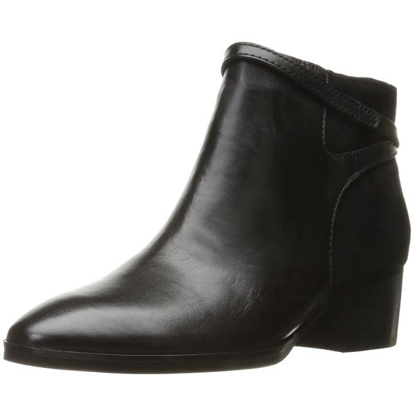 LAUREN by Ralph Lauren Womens DAMARA Leather Closed Toe Ankle Fashion Boots