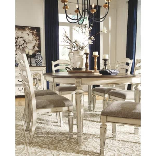 Ashley Furniture Realyn Dining Uph Dining Room Chair 2 Pack On Sale Overstock 27679046