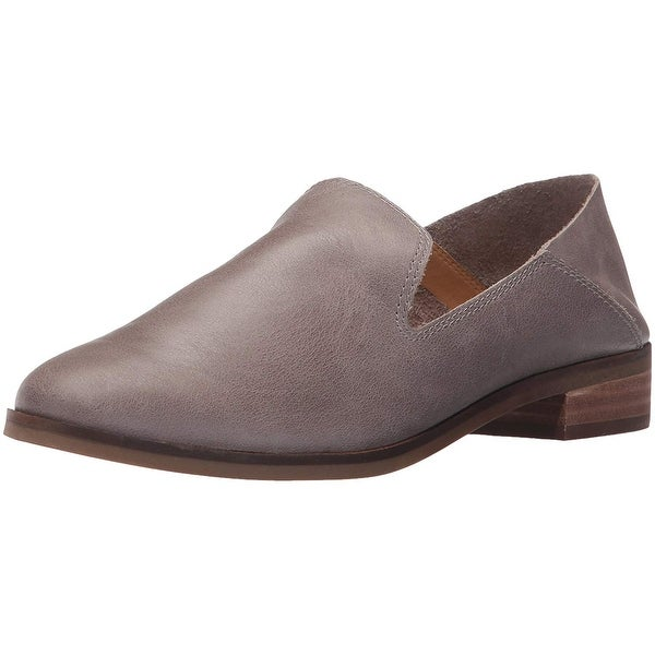 Lucky Brand Womens Cahill Leather Closed Toe Loafers