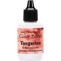 Ken Oliver Color Burst Powder 6gm-Tangerine
