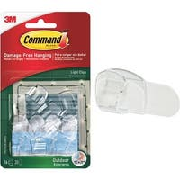 3M Command Clraw Light Clip 17017CLR-AWES Unit: EACH
