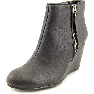 Unlisted Kenneth Cole Bold Move    Round Toe Synthetic  Ankle Boot