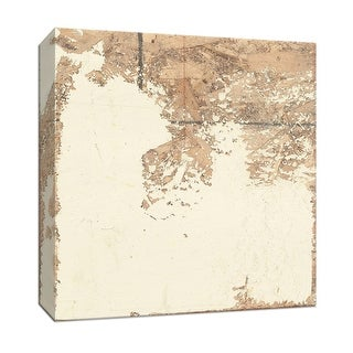 """PTM Images 9-153027  PTM Canvas Collection 12"""" x 12"""" - """"White Texture"""" Giclee Abstract Art Print on Canvas"""