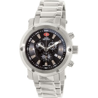 Swiss Precimax Men's Volt Pro SP13083 Silver Stainless-Steel Sport Watch