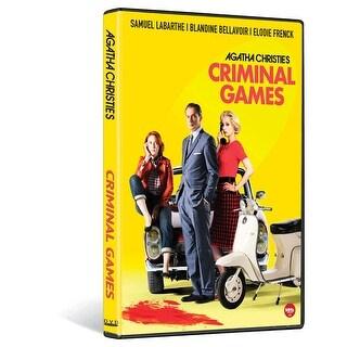 Criminal Games - Agatha Christie: 3 Dvd Set