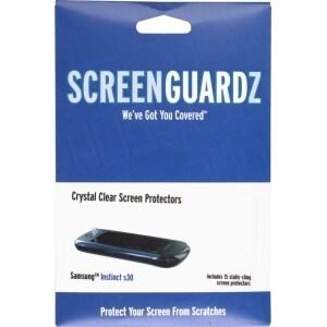 ScreenGuardz Ultra-Slim Screen Protector for Samsung Instinct S30 SPH-M810