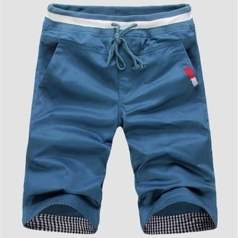 Fashion Cotton Trousers Solid Beach Shorts Men's Top Quality Sport Summer Casual For Man