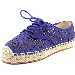 Vince Camuto Dinah Round Toe Leather Espadrille